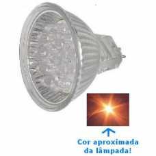 Lâmpada dicróica 20 leds neutra morna 3500k 1,6w/220volts - Cód: 4239 - Marca: W.S.G