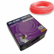 cabo flexível 1,5 MM x 100 metros vermelho superastic - Cód: 4653 - Marca: Prysmian