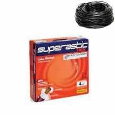 cabo flexível 4,0 MM x 100 metros preto superastic - Cód: 359 - Marca: Prysmian