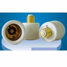 Soquete adaptador E-27 para E-40 em porcelana - Cód: 2531 - Marca: Decorlux