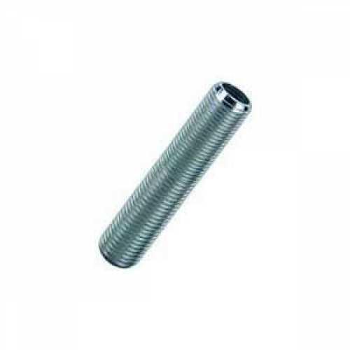 niple metal roscável 3/8 50mm (5cm) para abajur, luminárias e lustre - Cód: 6313 - Marca: Paco