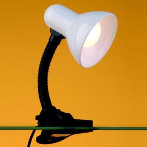 Luminária de mesa branca com garras versaty - Cód: 1407 - Marca: Bronzearte