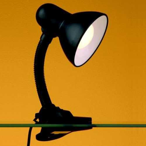 Luminária de mesa preta com garras versaty - Cód: 1406 - Marca: Bronzearte