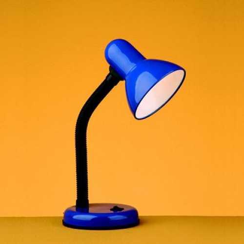 Luminária de mesa azul versaty - Cód: 1403 - Marca: Bronzearte