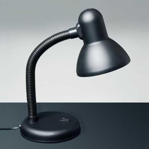 Luminária de mesa preta versaty - Cód: 1405 - Marca: Bronzearte