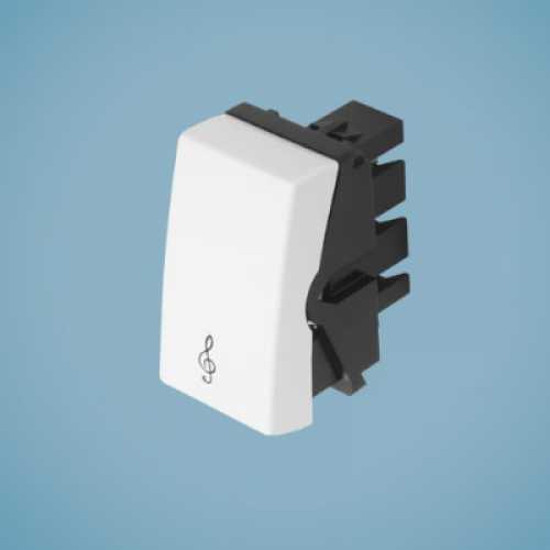 Módulo de interruptor para campainha 0346 modulare - Cód: 1566 - Marca: Fame