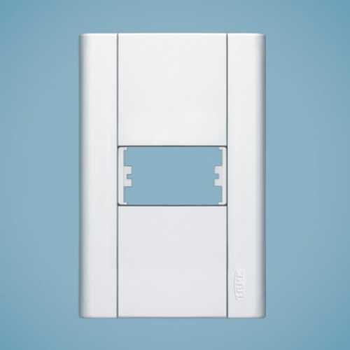 Placa para 1 módulo 4x2 0031 modulare - Cód: 1550 - Marca: Fame