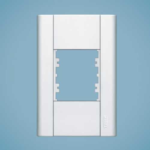 Placa para 2 módulos 4x2 0072 modulare - Cód: 1551 - Marca: Fame