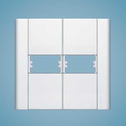 Placa para 2 módulos 4x4 0655 modulare - Cód: 1555 - Marca: Fame