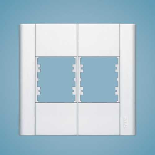 Placa para 4 módulos 4x4 0183 modulare - Cód: 1556 - Marca: Fame