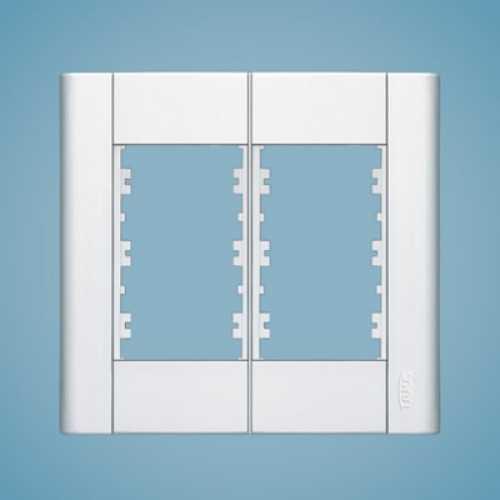 Placa para 6 módulos 4x4 0230 modulare - Cód: 1557 - Marca: Fame