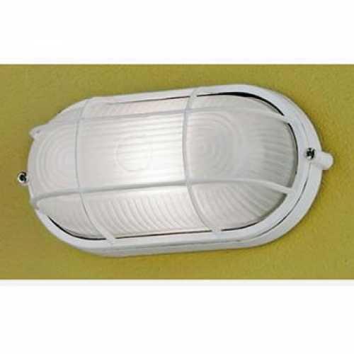 luminária tartaruga pequena branca 1xE27 em alumínio referência MX71ABC - Cód: 2147 - Marca: Bronzearte