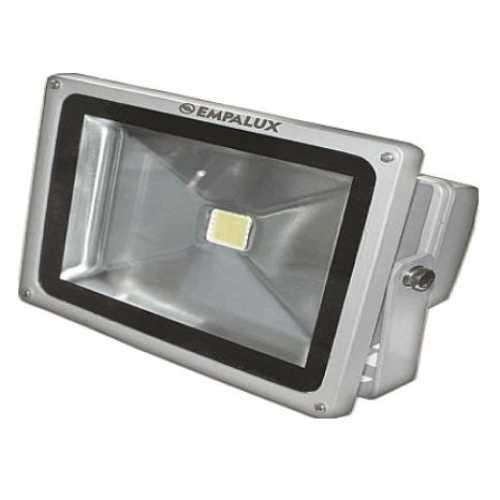 Refletor led 10 watts bivolt 5500k cinza empalux - Marca: Empalux