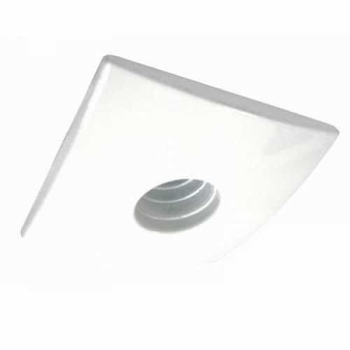 Spot dicróica branco laser quadrado só armação - Cód: 3584 - Marca: Bronzearte