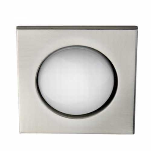 Spots para lâmpada incadescente ou eletrônica quadrado escovado 1xE27 - Cód: 5534 - Marca: Bronzearte