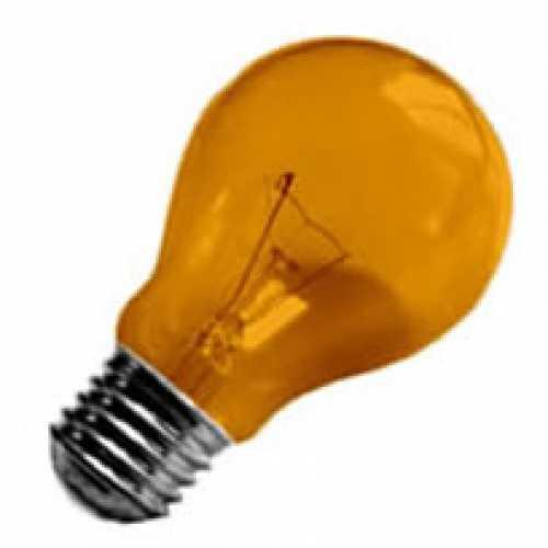 Lâmpada laranja incandescente para abajur, luminárias e decorar festas  40w/220v - Cód: 2440 - Marca: Nards