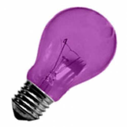 Lâmpada rosa incandescente para abajur, luminárias e decorar festas  40w/220v - Cód: 1473 - Marca: Nards
