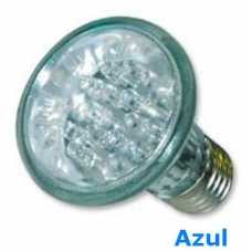 Lâmpada de led par 20 com 24 leds 220volts cor azul - Cód: 3590 - Marca: Golden Plus
