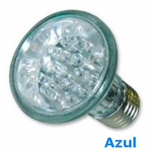 Lâmpada de led par 20 com 24 leds 220volts cor azul - Cód: 3590 - Marca: Golden Plus