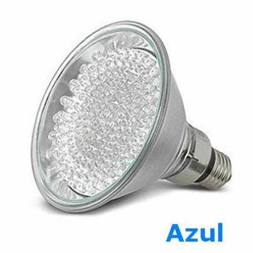 Lâmpada de led par 38 com 60 leds 220volts cor azul - Cód: 3922 - Marca: Golden Plus