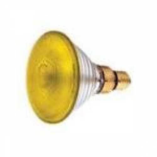 Lâmpada par 38 amarela 80w/220v - Cód: 1324 - Marca: Golden Plus