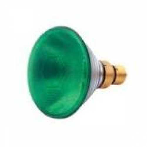 Lâmpada par 38 verde 80w/220v - Cód: 1327 - Marca: Golden Plus