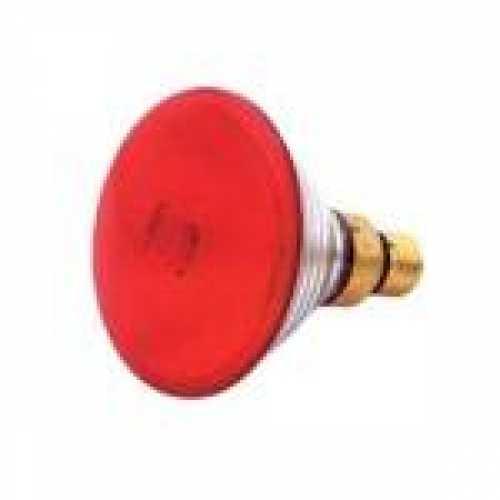 Lâmpada par 38 vermelha 80w/220v - Cód: 1328 - Marca: Golden Plus