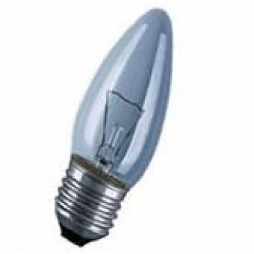 Lâmpada vela clara 40w/220v E-27 - Cód: 1280 - Marca: Sadokin