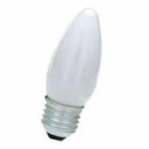 Lâmpada vela leitosa 40w/220v E-27 - Cód: 1286 - Marca: Sadokin