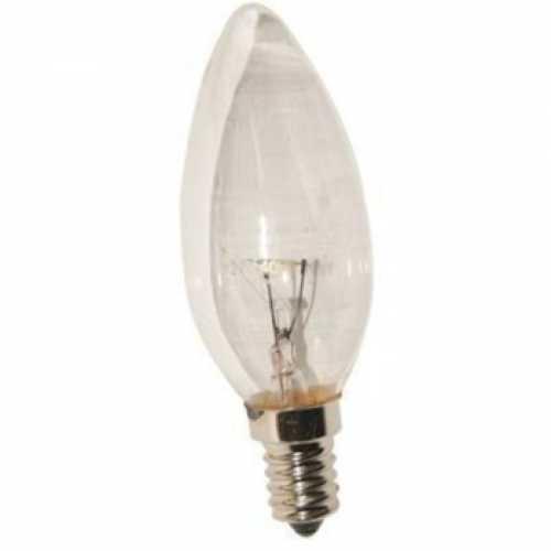 Lâmpada vela clara 40w/220v E14 - Cód: 4681 - Marca: Empalux
