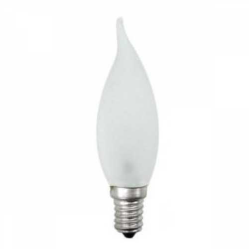 Lâmpada vela fosca bico torto 40w/220v E14 - Cód: 4172 - Marca: Xelux