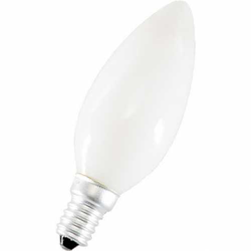 Lâmpada vela leitosa 40w/220v E14 - Cód: 1284 - Marca: Xelux