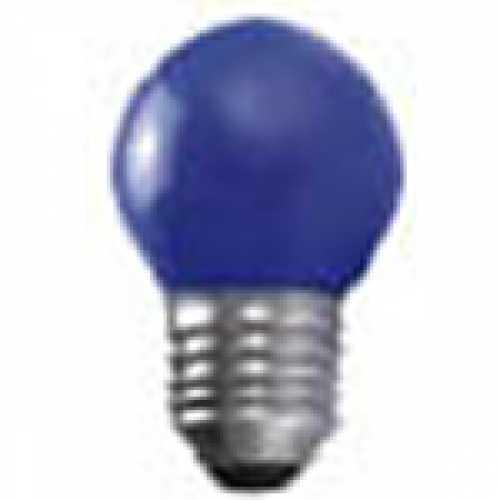 Lâmpada bolinha azul para abajur e luminárias 15w/220v - Cód: 3945 - Marca: Taschibra