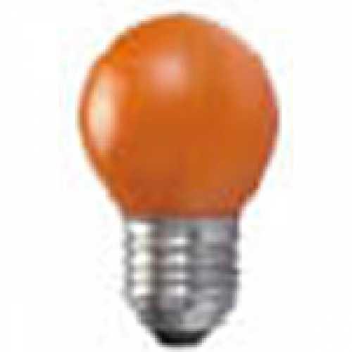 Lâmpada bolinha laranja para abajur e luminárias 15w/220v - Cód: 3949 - Marca: Taschibra