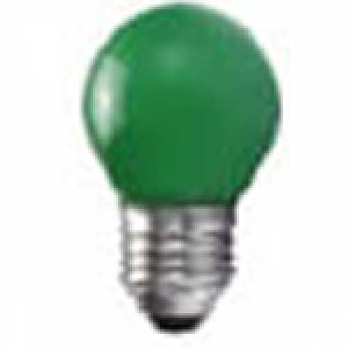 Lâmpada bolinha verde para abajur e luminárias 15w/220v - Cód: 3947 - Marca: Taschibra