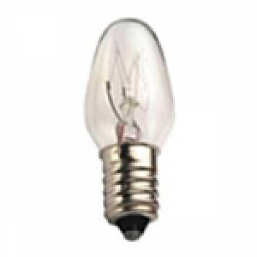 Lâmpada chupeta transparente 7w/220v E-14 - Marca: Diversas