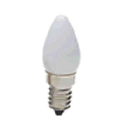 Lâmpada chupeta branca 7w/220v E-14 - Marca: Diversas