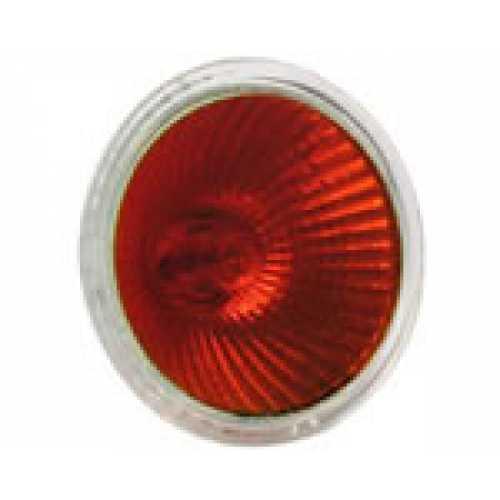 Lâmpada dicróica vermelha 50w/220v - Cód: 227 - Marca: Diversas