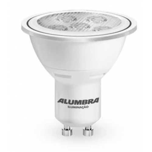 Lâmpada dicróica GU10 super led branca 6500k 7 watts Bivolt - Cód: 8632