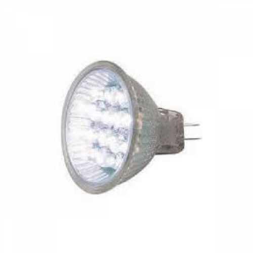 Lâmpada MR11 mini dicróica led 9 leds 6000k cor branca 0.5w 220v - Cód: 5448 - Marca: Luz Sollar
