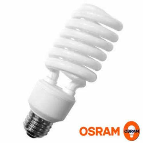 Lâmpada eletrônica econômica espiral 58 watts 220 volts - Marca: Osram