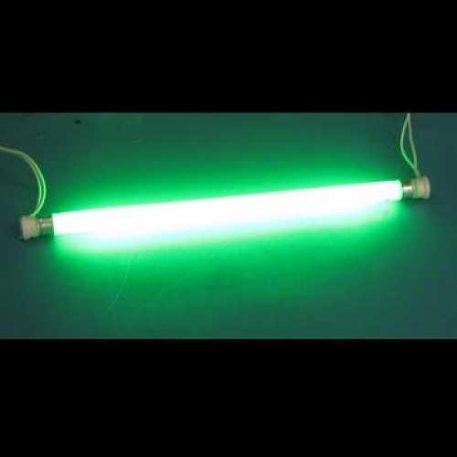 Lâmpada fluorescente 8w tubo branco acende verde estilo neon - Cód: 4739 - Marca: Diversas