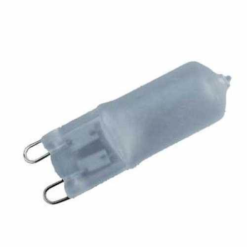 Lâmpada G9 fosca 60 watts 220 volts blister com 2 pçs - Cód: 3780 - Marca: Golden Plus