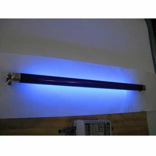 Lâmpada fluorescente luz negra 20w estilo neon - Marca: Diversas