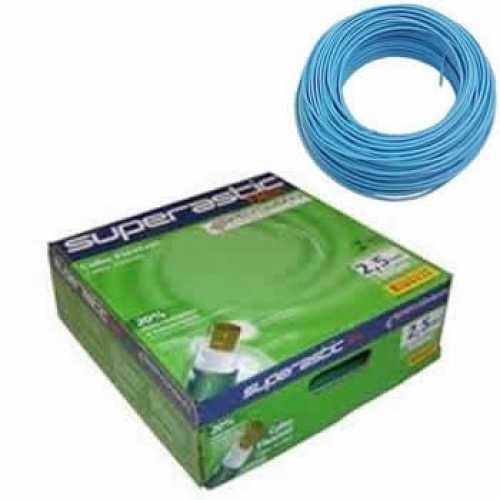 cabo flexível 2,5 MM x 100 metros azul superastic - Cód: 4438 - Marca: Prysmian