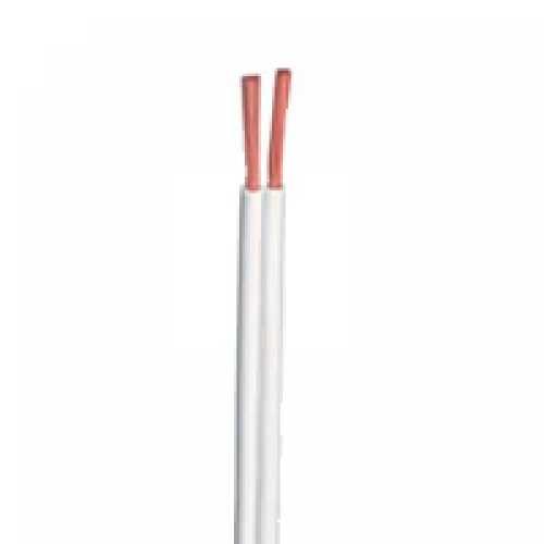 Fio paralelo 2 X 0.50mm branco em metro - Cód: 1019 - Marca: Diversas