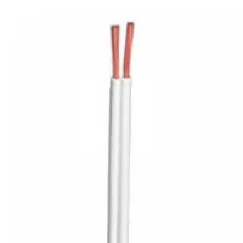 Fio paralelo 2 X 0.75mm branco em metro - Cód: 4313 - Marca: Diversas
