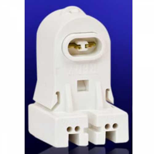 Soquete de pressão para lâmpada fluorescente HO 110w modelo fêmea fixo - Cód: 3751 - Marca: Redy