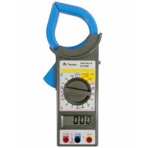 Alicate amperímetro digital 1000A ET-3200 - Cód: 6996 - Marca: Minipa