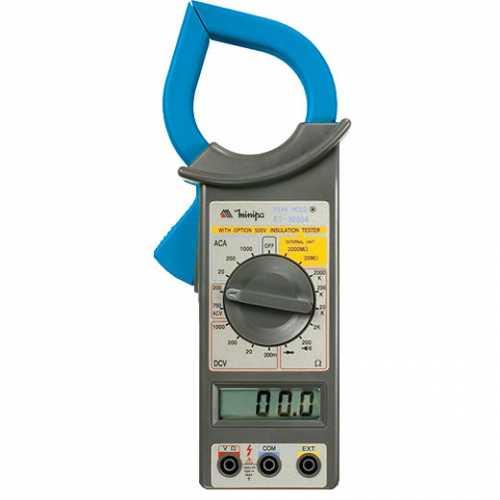 Alicate amperímetro digital 1000A ET-3200A - Cód: 5132 - Marca: Minipa